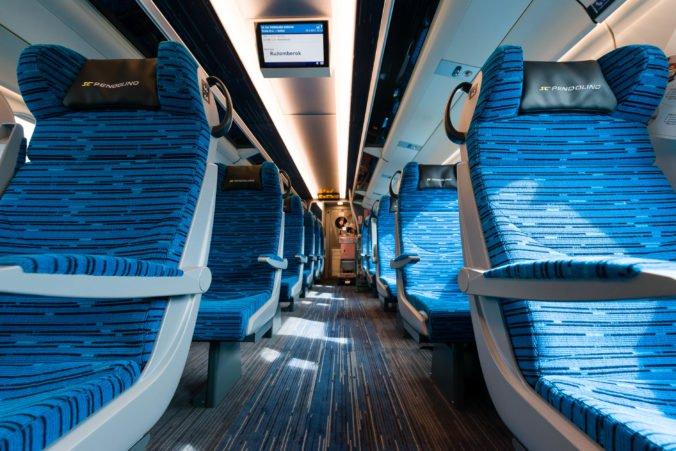 6e59d2e08e4 Interiér vozňov súpravy modernizovaného vlaku SC 241 Pendolino Košičan