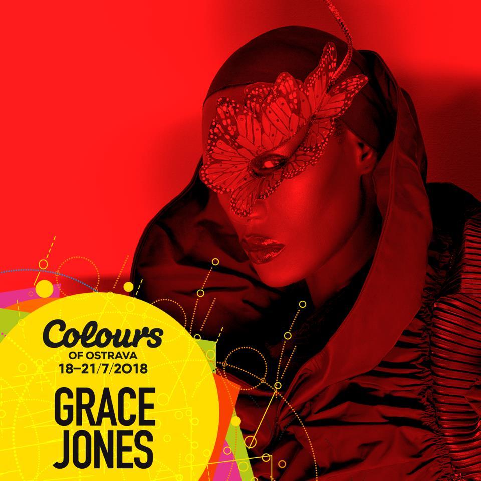 Extravagantná jamajská speváčka Grace Jones vystúpi na Colours of Ostrava