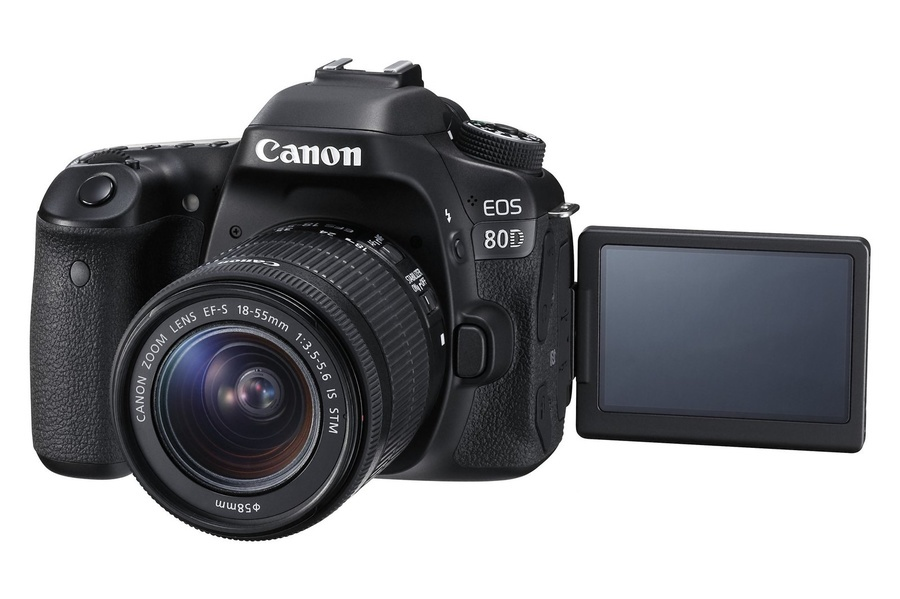 Nová zrkadlovka Canon EOS 80D
