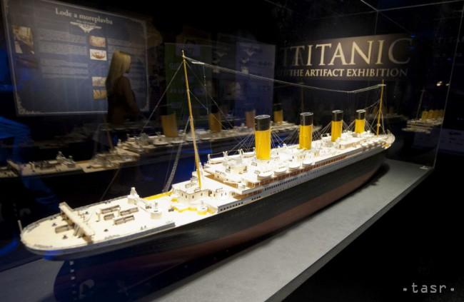 Z výstavy Titanic v bratislavskej Inchebe 12. augusta 2015.