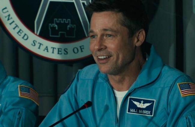 Záber z filmu Ad Astra.