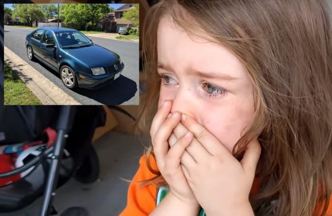 Muž predal svoje staré auto, reakcia jeho dcérky je na nezaplatenie