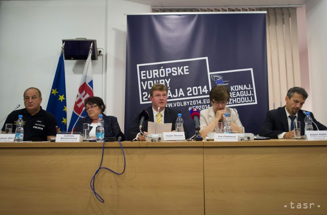 Oficiálne výsledky volieb do Európskeho parlamentu 2014
