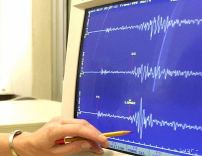 Stredné Slovensko zasiahlo zemetrasenie s magnitúdou 3,2
