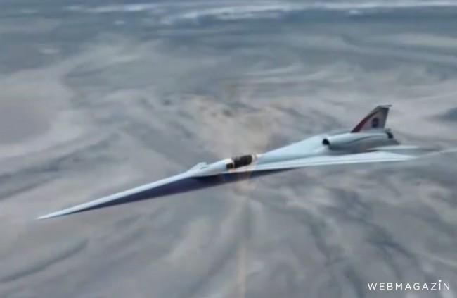 Nadzvukové lietadlo, ktoré má nahradiť Concorde už testujú