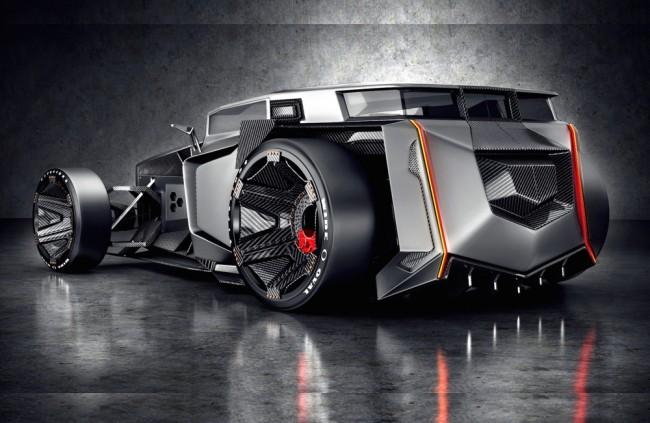 Koncept Lamborghini Rat Rod