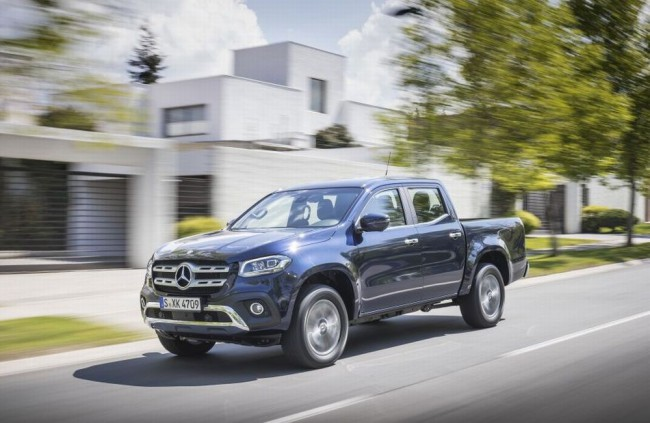 Pick-up Mercedes-Benz Triedy X