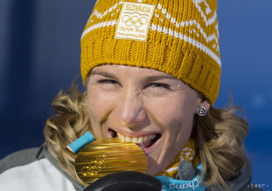 Anastasia Kuzminová zlato