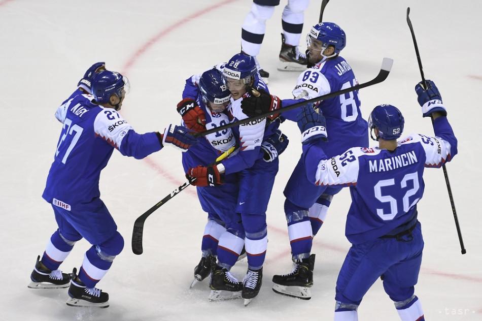 393852fce MS v hokeji 2019: Fantastické! Slovensko v prvom zápase na MS v hokeji 2019