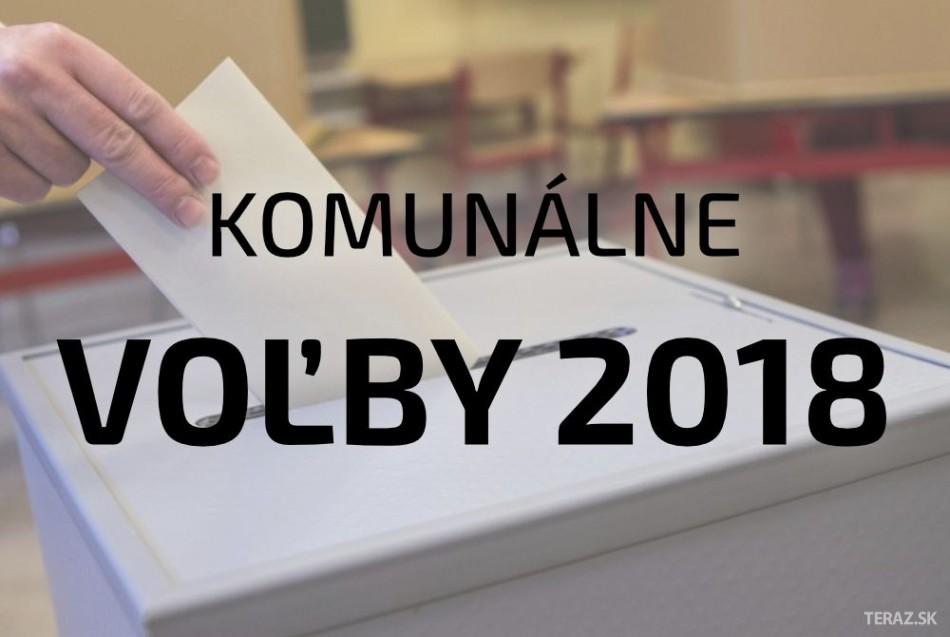 Komunálne voľby 2018: Priebežné výsledky komunálne voľby 2018 na Slovensku