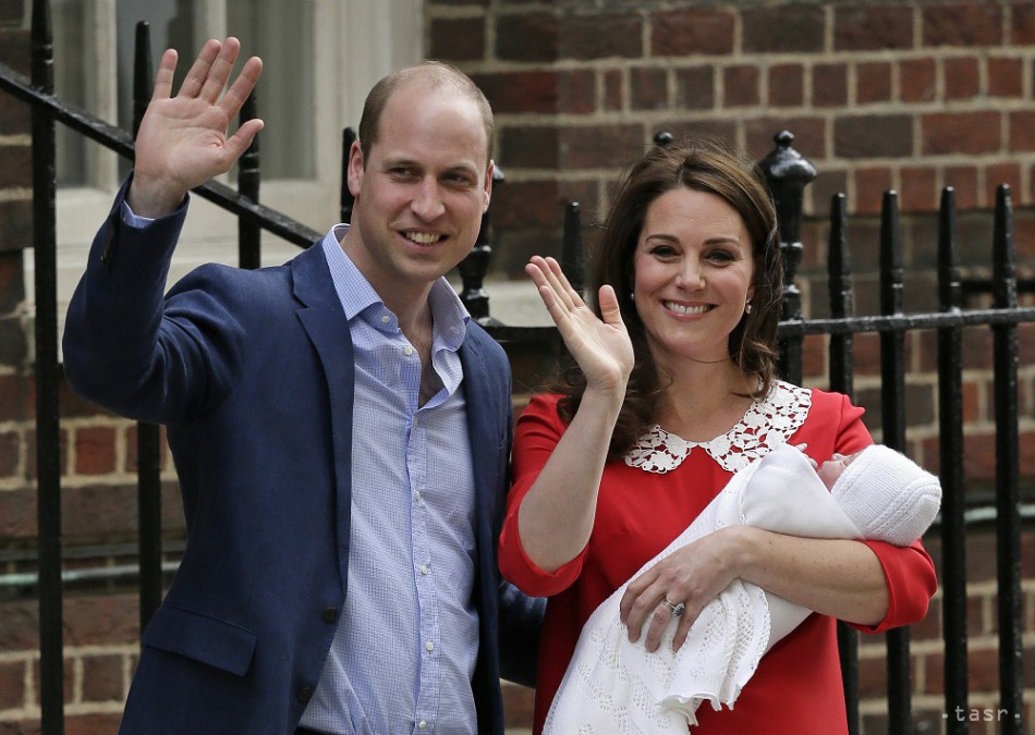 Vojvodkyňa Kate porodila tretie dieťa