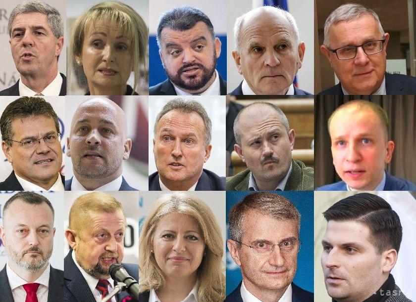 Prezidentské voľby 2019 kandidáti