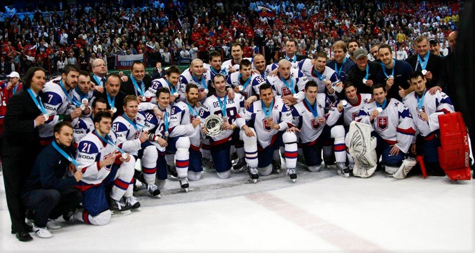 Slovensko - Rusko 2:6. Slováci ukončili šampionát snov striebrom