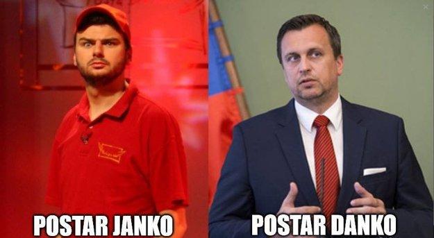 Andrej Danko baví opäť internet, tento krát ako poštár