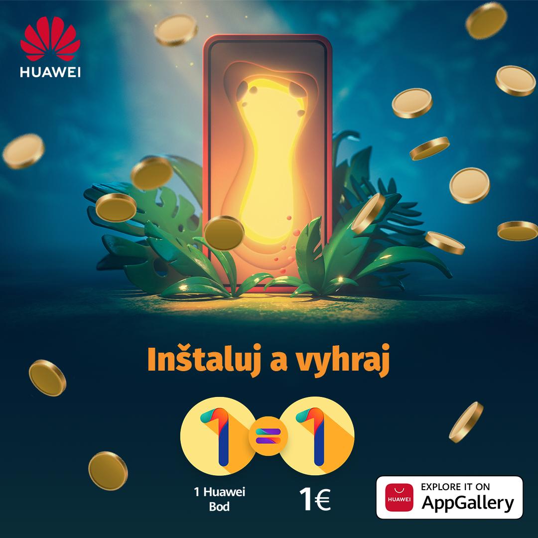 Získajte platenú hru či miesto v cloude zadarmo: Huawei rozdáva kredity za inštalovanie aplikácií z AppGallery