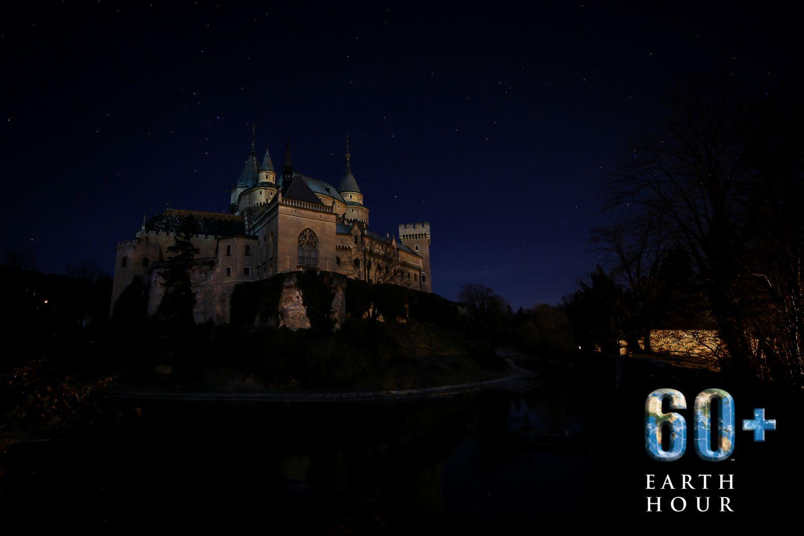 Hodina zeme 2020: Múzeum Bojnice zhasne osvetlenie Bojnického zámku