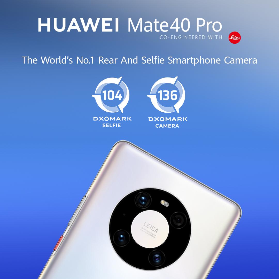 Huawei Mate 40 Pro je novou jednotkou nezávislom fotografickom rebríčku DxOMark