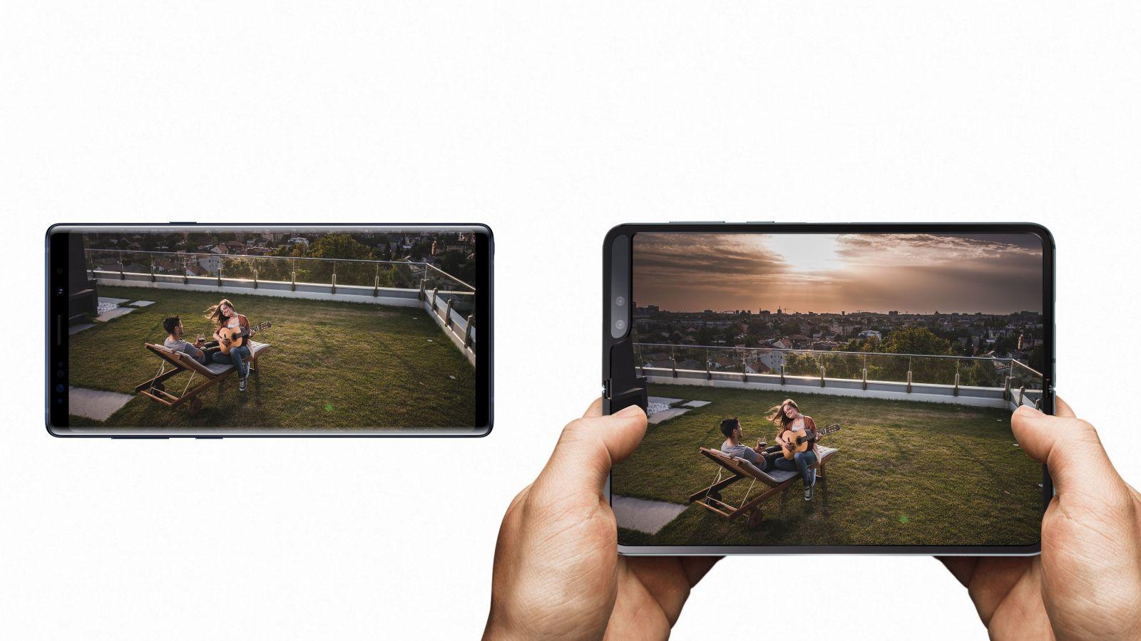 Samsung predstavil revolucny skladaci smartfon Galaxy Fold