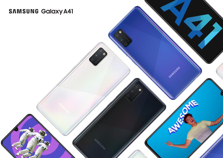 Samsung rozširuje obľúbený rad o kompaktný model Galaxy A41
