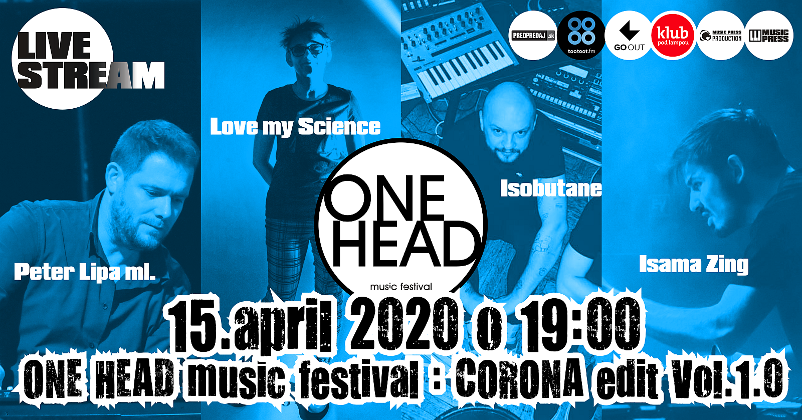 ONE HEAD : music festival – CORONA edit VOL. 1.0