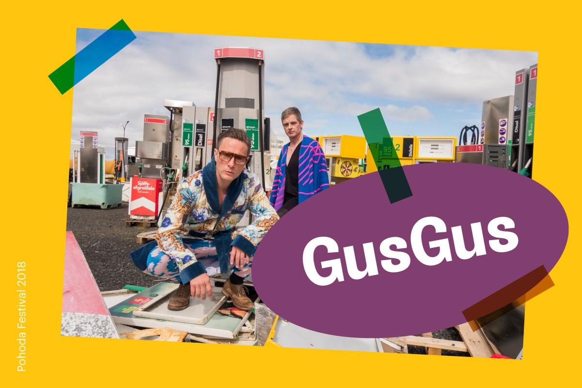 GusGus na Pohode 2018