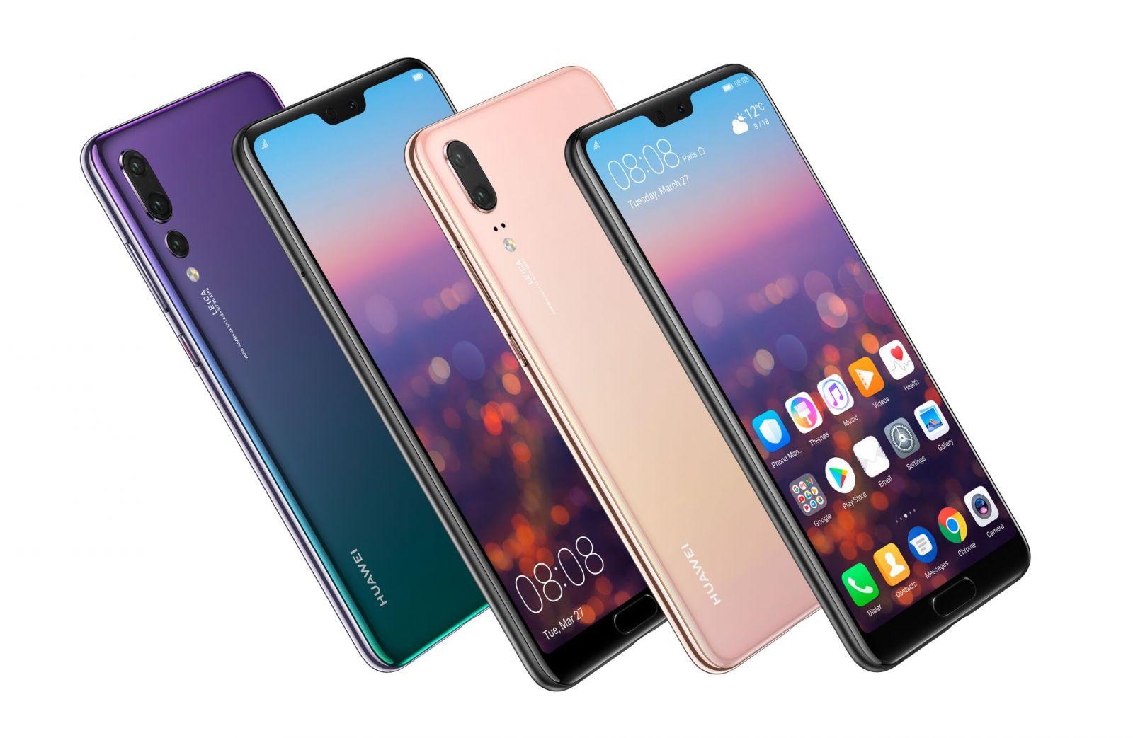 Huawei P20 a Huawei P20 Pro