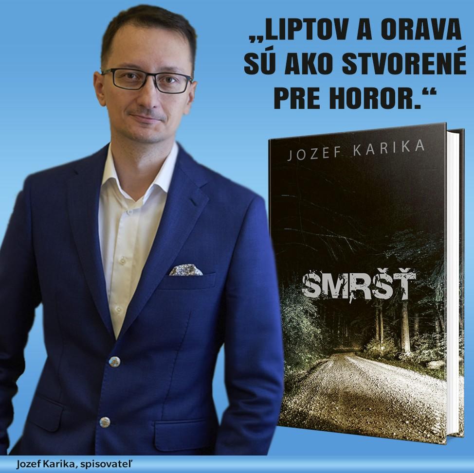 Jozef Karika a jeho veterný démon v novom trileri SMRŠŤ