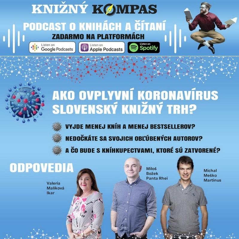 Koronavírus zastavuje vydávanie kníh na Slovensku