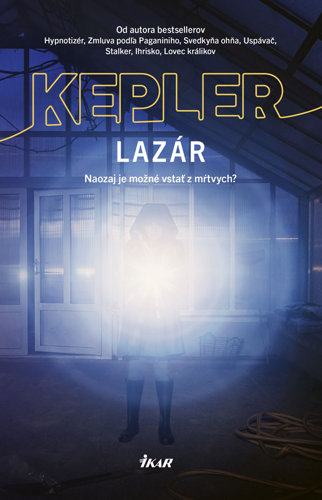 Lars Kepler a jeho Lazár