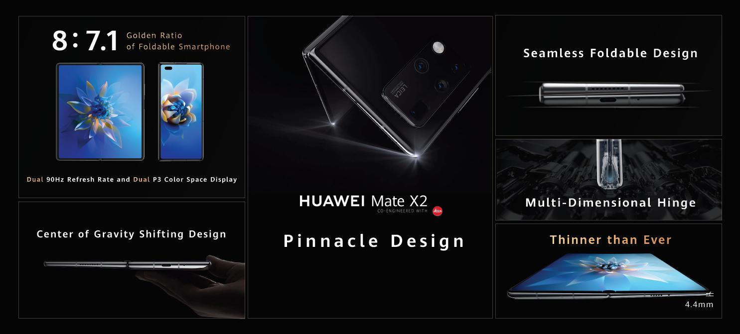 Tretia generácia skladacieho smartfónu prichádza: Huawei Mate X2 je výsledkom dlhoročných inovácií a výskumu