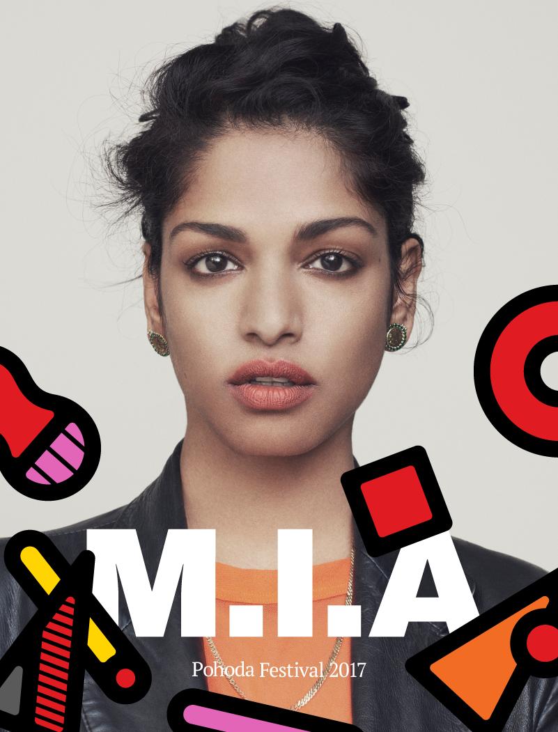 M.I.A. na Pohode 2017