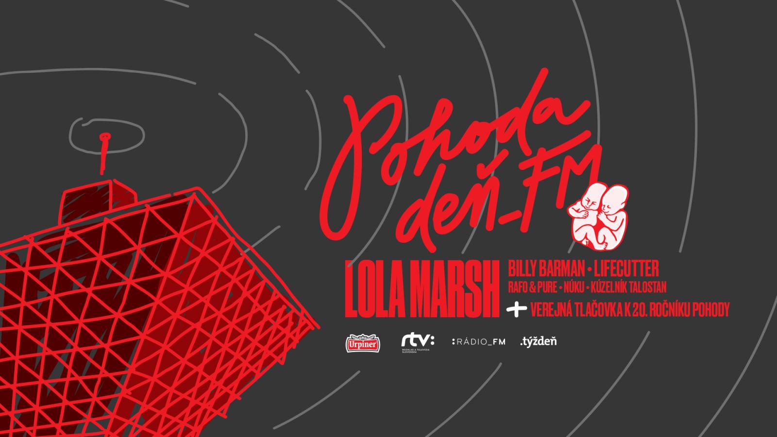 Pohoda Deň_FM 18. mája aj s Lola Marsh