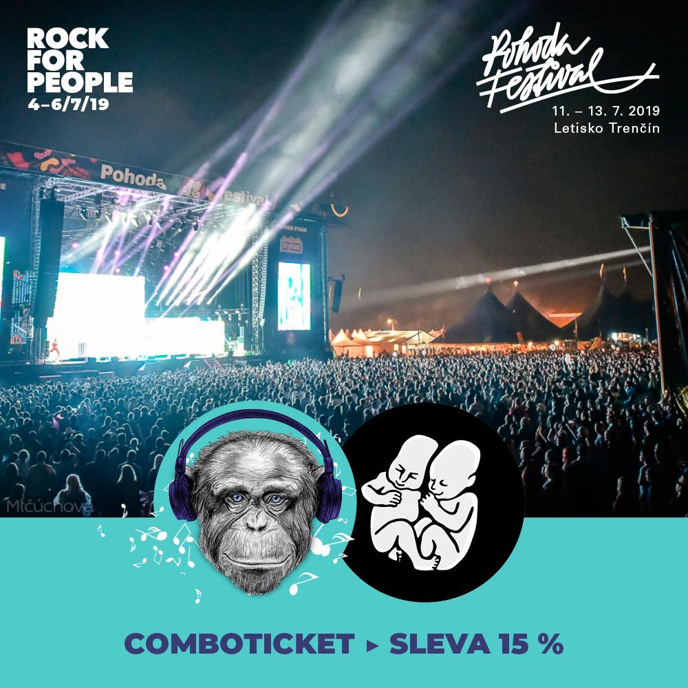 Zvýhodnené kombo vstupenky na Pohodu a Rock for People 2019