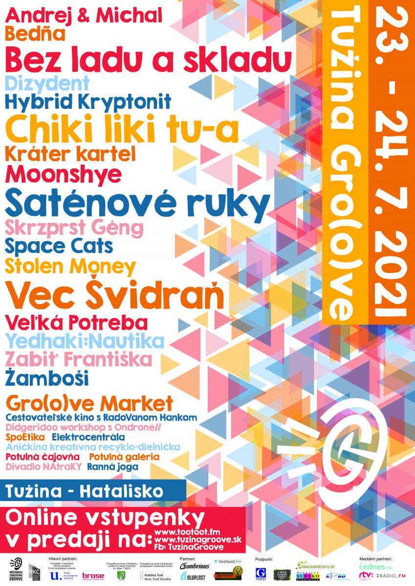 Multižánrový festival Tužina Gro(o)ve otvára svoje brány v roku 2021 už šiesty krát!