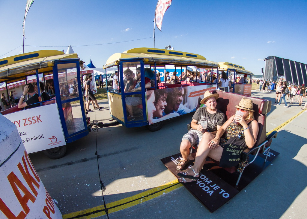 Na Pohodu môžu fanúšikovia cestovať aj vlakom. Vlakom je to Pohoda 2018
