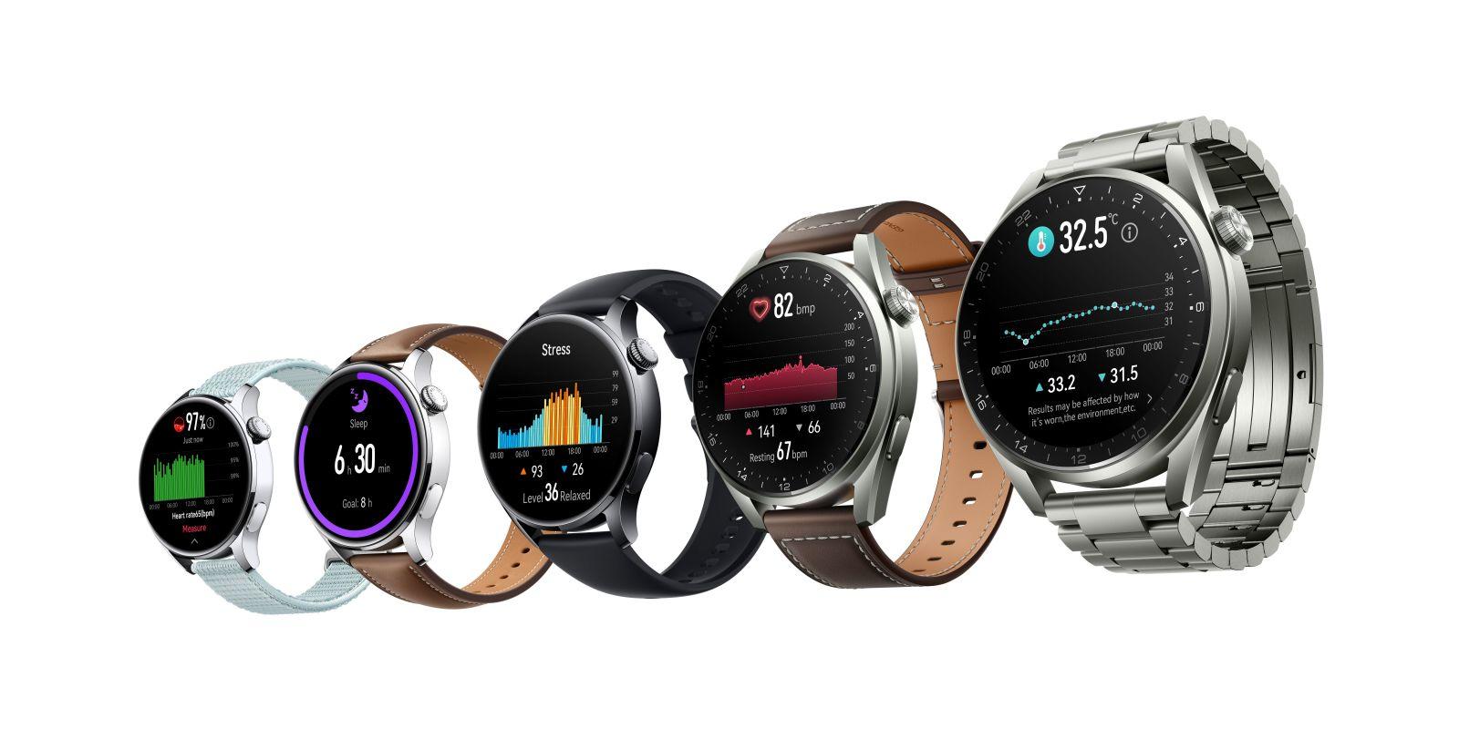 Predpredaj Huawei Watch 3 series je v plnom prúde