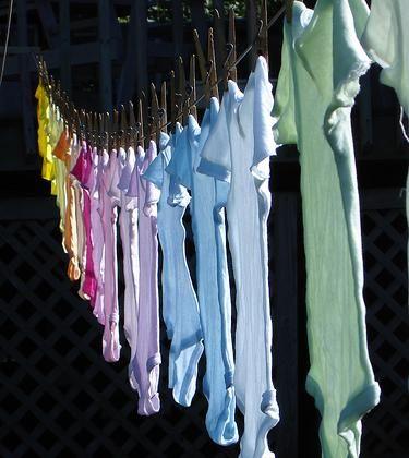 sušenie prádla