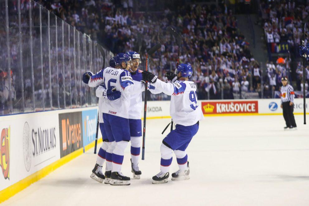 MS v hokeji 2019: Slovensko – Francúzsko 6:3. Slovensko má druhé víťazstvo