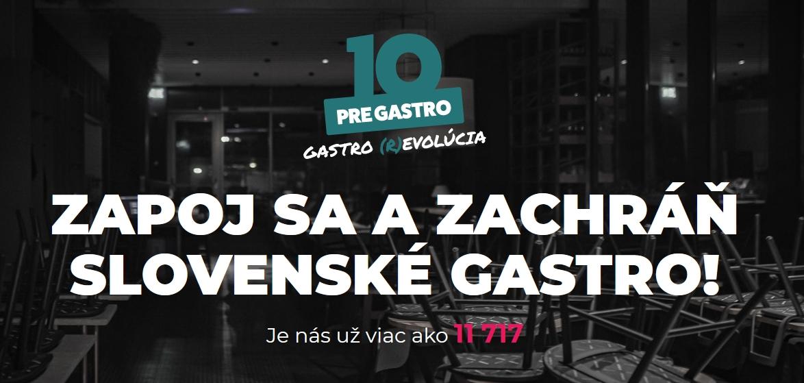 Iniciatíva 10 pre gastro vytvára Alianciu slovenskej gastronómie