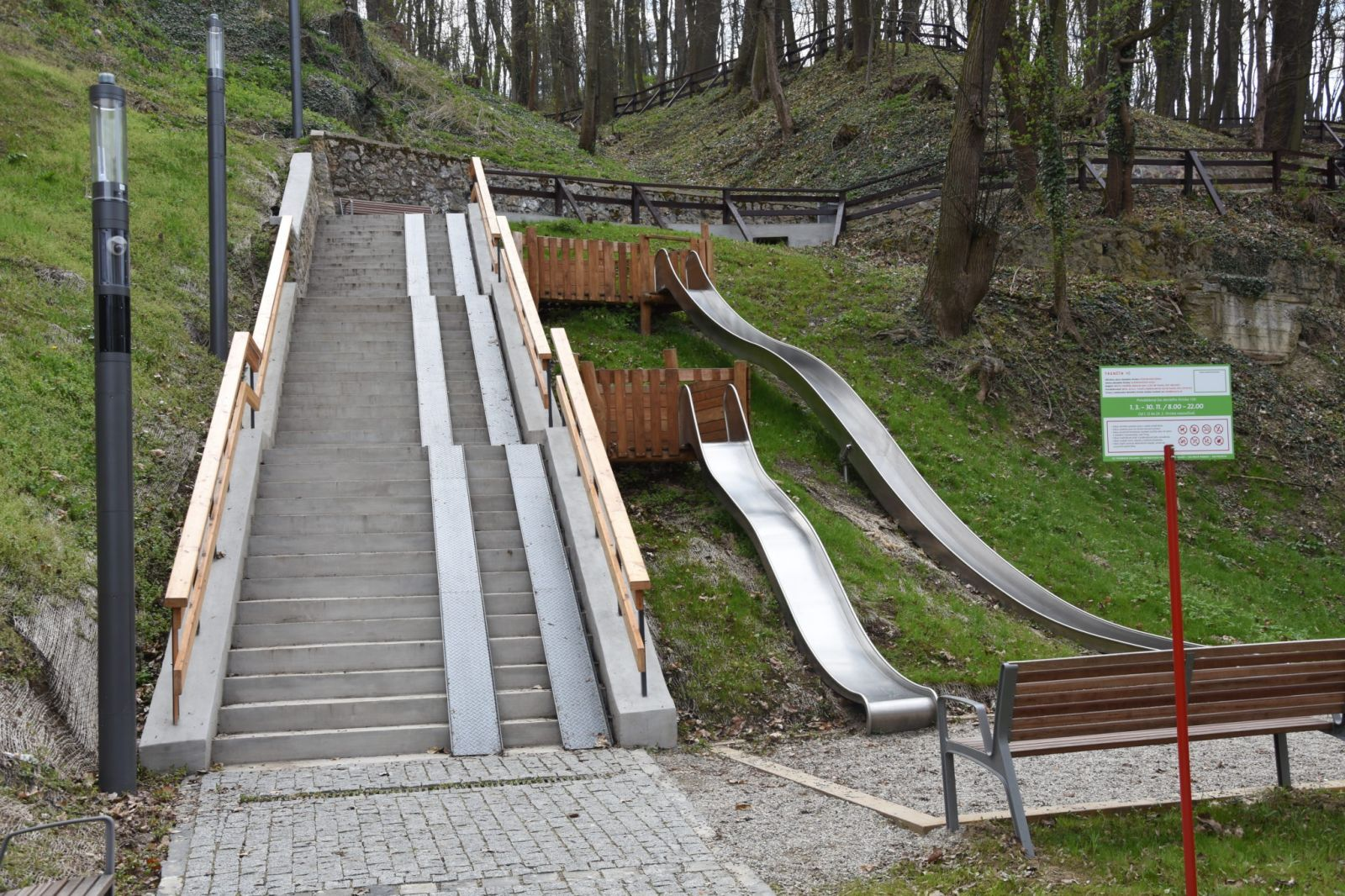 Foto: Átrium pod Mestskou vežou a vnútroblok Východná v Trenčíne otvorili pre verejnosť
