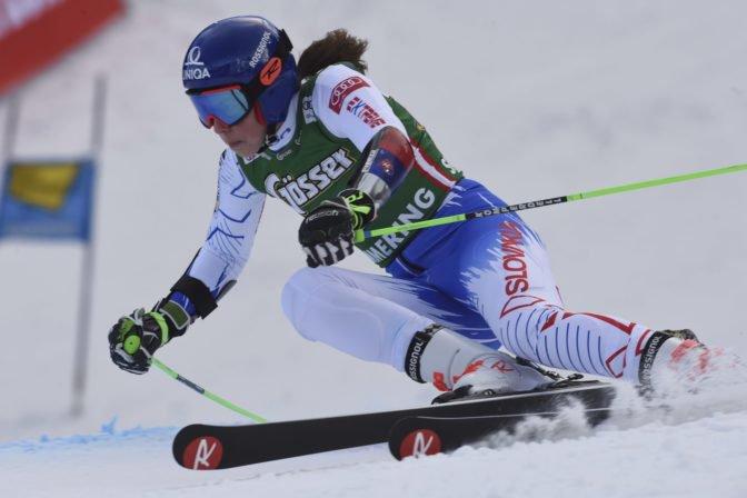 Petra Vlhová získala v Soldeu tretie miesto v obrovskom slalome vyhrala Shiffrinová