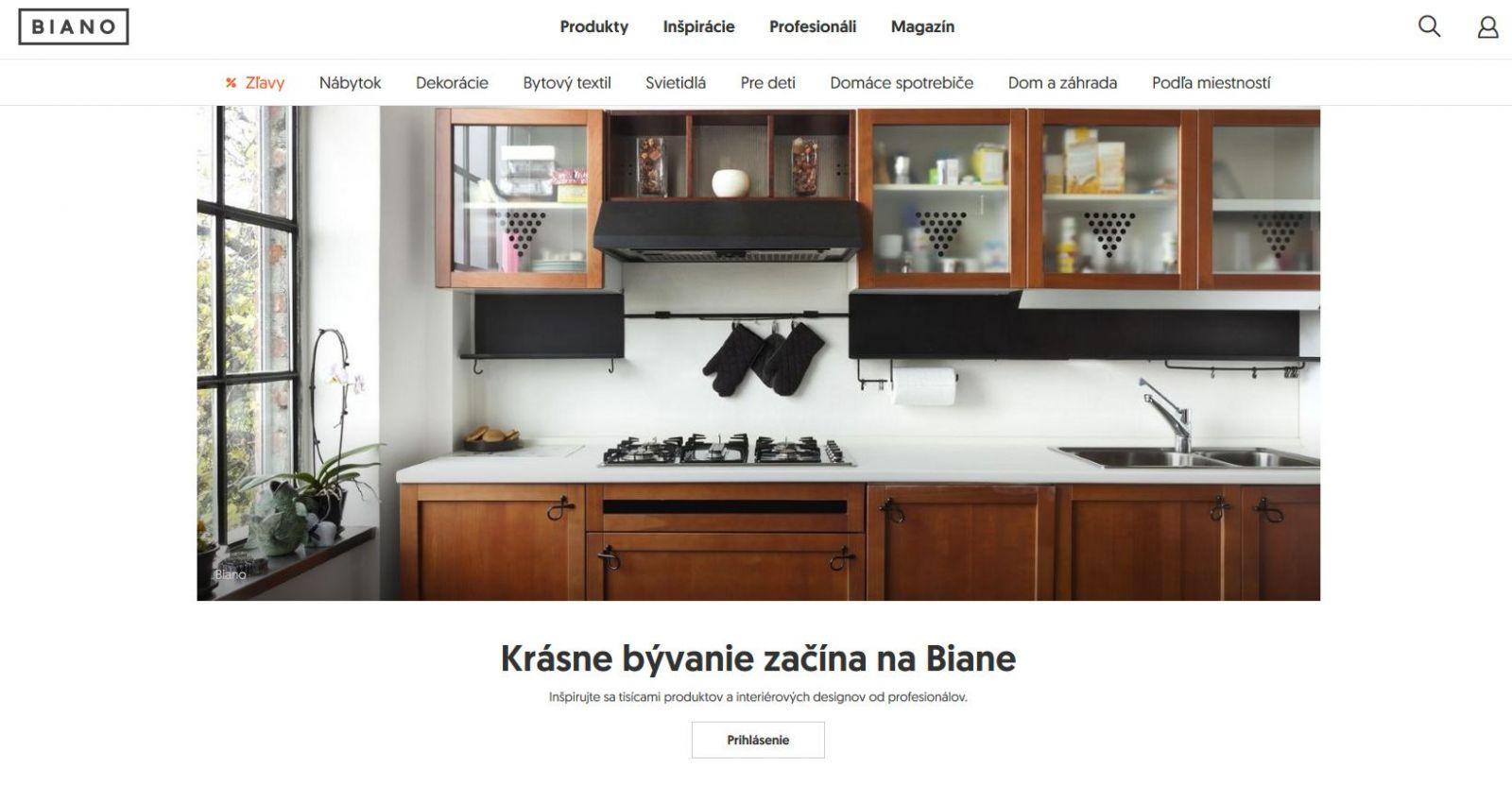 Biano – portál o bývaní, ktorý ponúka viac