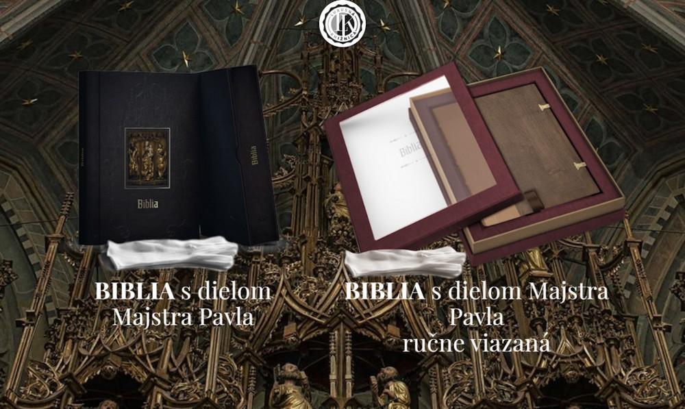 Exkluzívna Biblia s dielom Majstra Pavla z Levoče