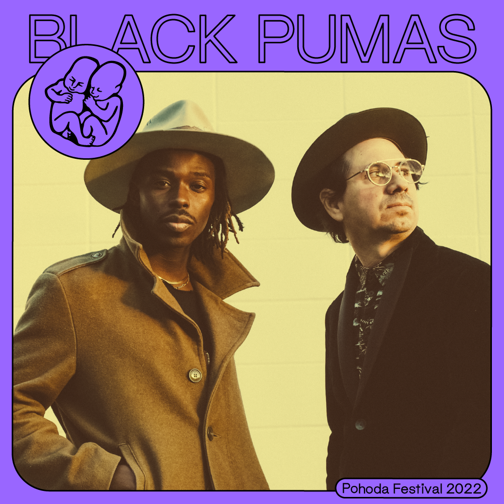 Black Pumas vystúpia na Pohode 2022