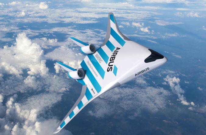 Airbus predstavil lietadlo budúcnosti MAVERIC.