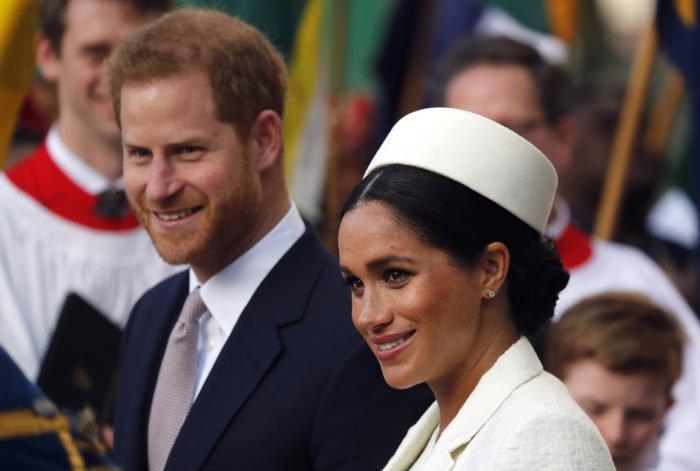 Britský princ Harry a Meghan, vojvodkyňa zo Sussexu.