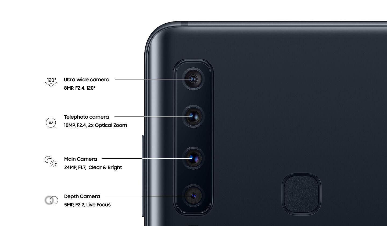 Video: Samsung Galaxy A9: prvý smartfón na svete so štyrmi fotoaparátmi na zadnej strane