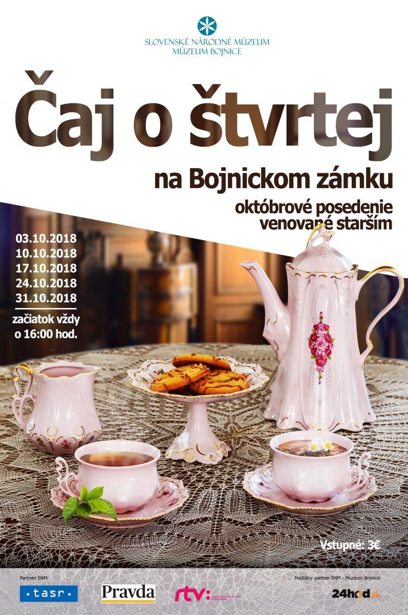 Bojnický zámok: Čaj o štvrtej v múzeu