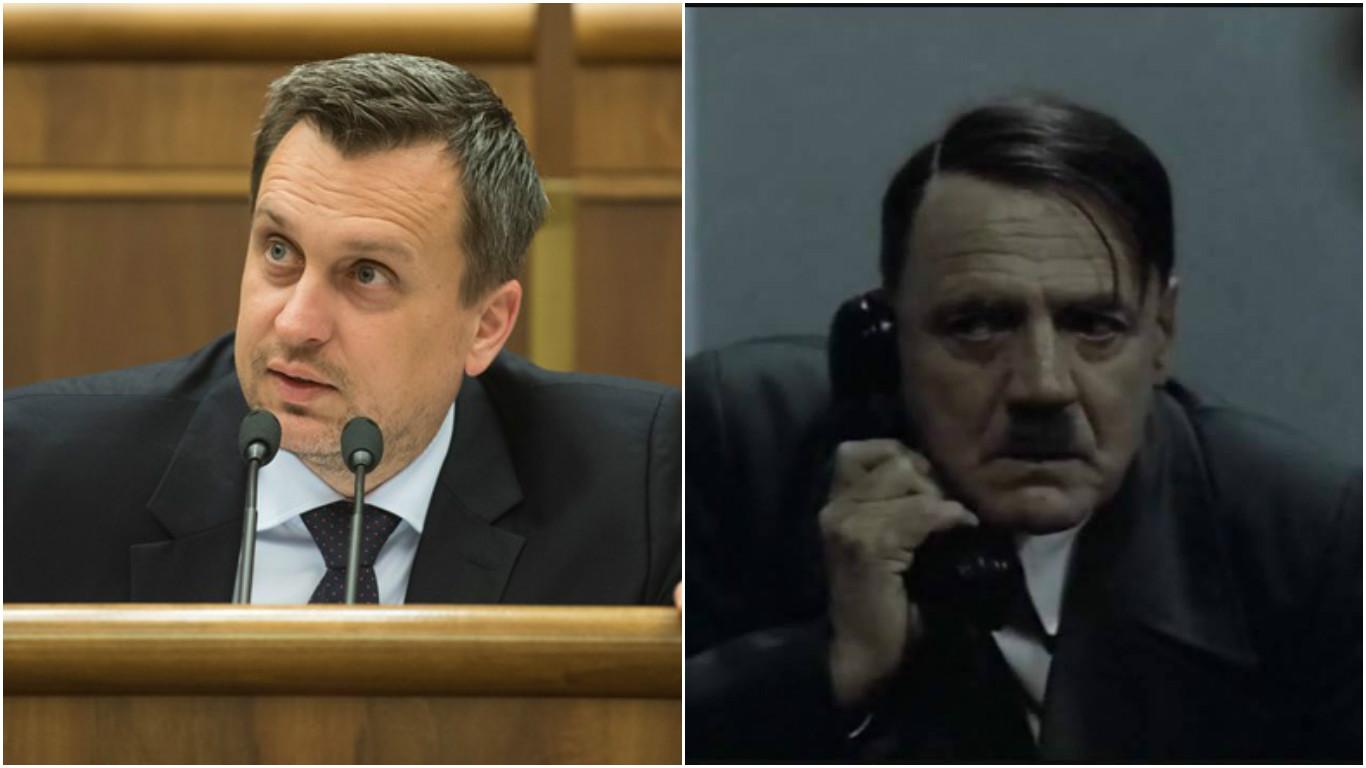 Video: Ako reagoval Hitler, keď sa dozvedel, že Andreja Danka povýšili na generála