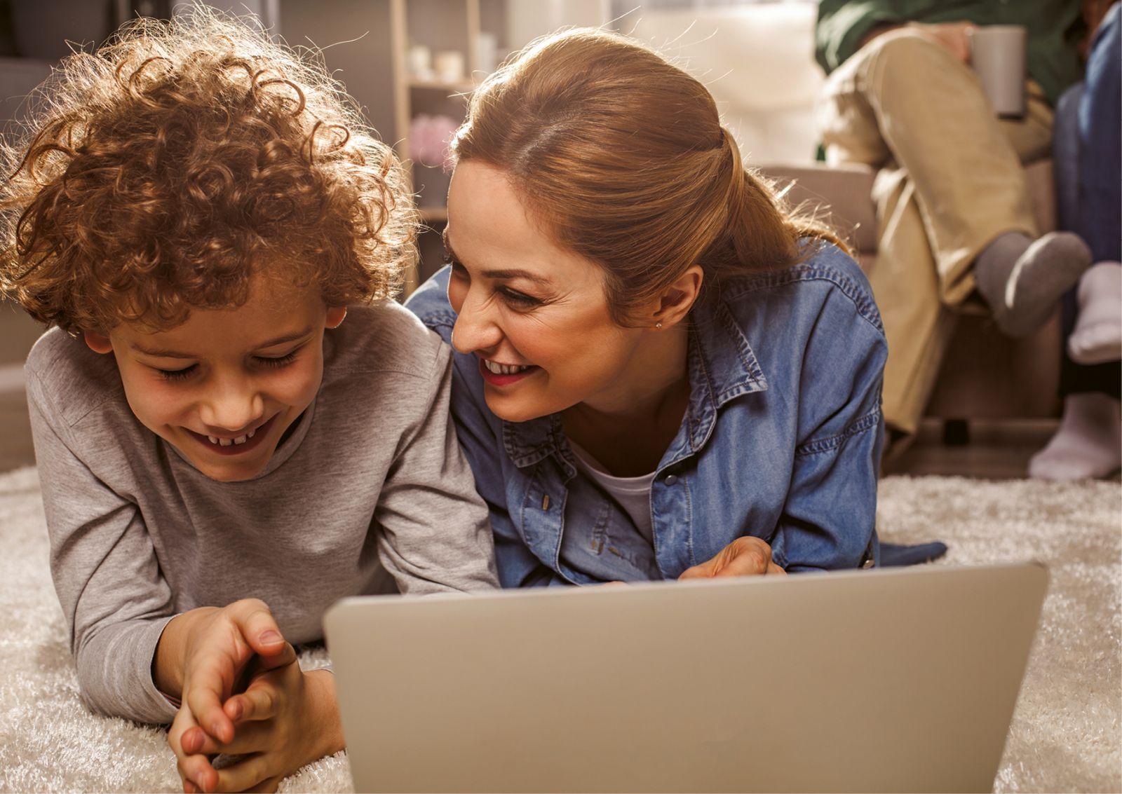 Sú vaše deti teraz viac na nete?